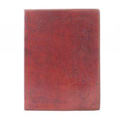 Leren notitieboek Miles to go