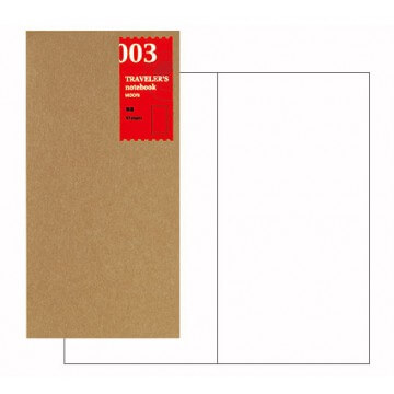 Midori-Traveler's Notebook navulling blanco 003