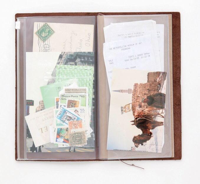 Midori Traveler's Notebook navulling zipper pocket 008