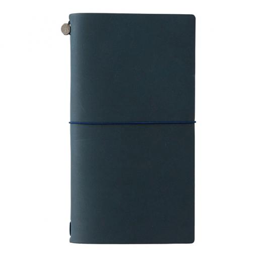 Midori Traveler's Notebook blauw