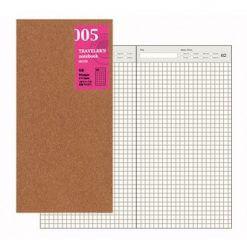 Midori Traveler's Notebook navulling free diary daily 005