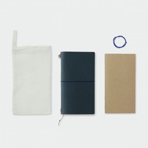 Midori Traveler's Notebook blauw special edition