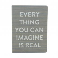 Nuuna notitieboek Everything you can imagine is real