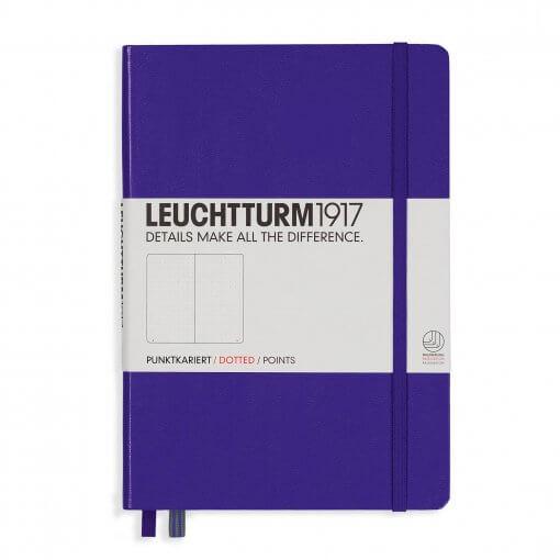 Bullet journal notitieboek dotted paars
