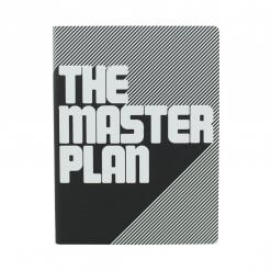 Nuuna notitieboek the masterplan zwart