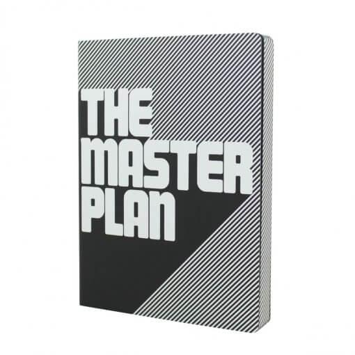 Nuuna notitieboek the masterplan zwart