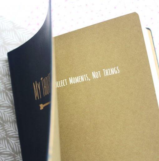 Notitieboek My Thoughts donkerblauw 1