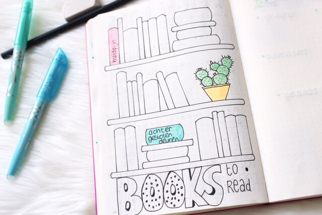 Een tracker bijhouden in je bullet journal