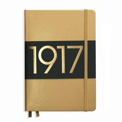 Leuchtturm1917 notitieboek goud Limited edition