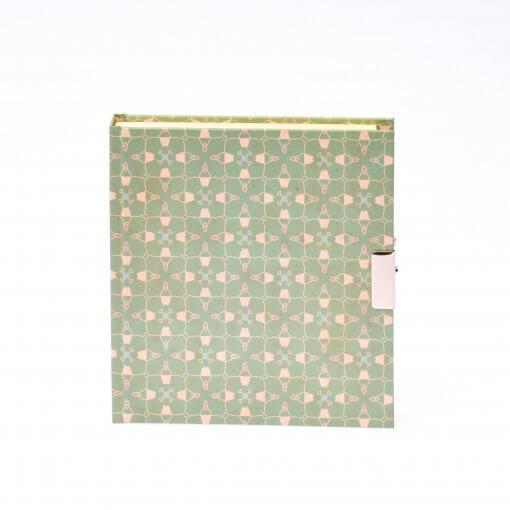 Dagboek met slot suzette pastel groen