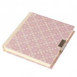 Dagboek met slot Suzette pastel paars