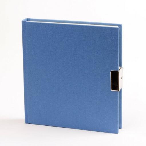 Dagboek met slot blauw