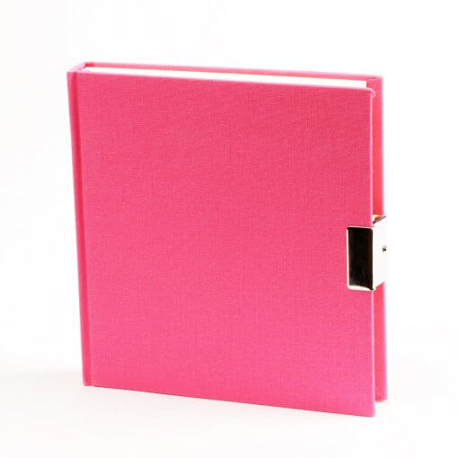 Dagboek met slot roze