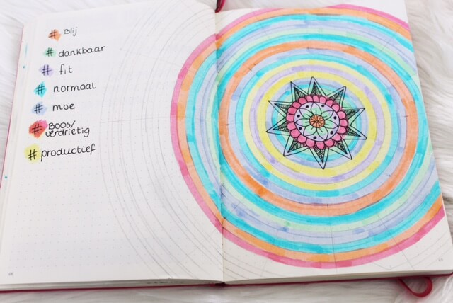 how to create a mood mandala