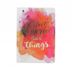 Notitieboek Collect memories not things