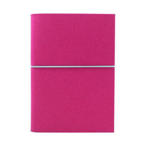 Notitieboek vilt A5 roze