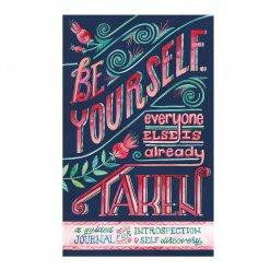 Notitieboek voor zelfontwikkeling Be Yourself