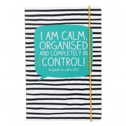 Happy Jackson notitieboek A5 I'm calm, organised