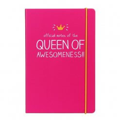Happy Jackson notitieboek A5 official notes of the queen of awesomeness
