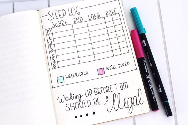 Je bullet journal effectief inzetten voor gewichtsverlies