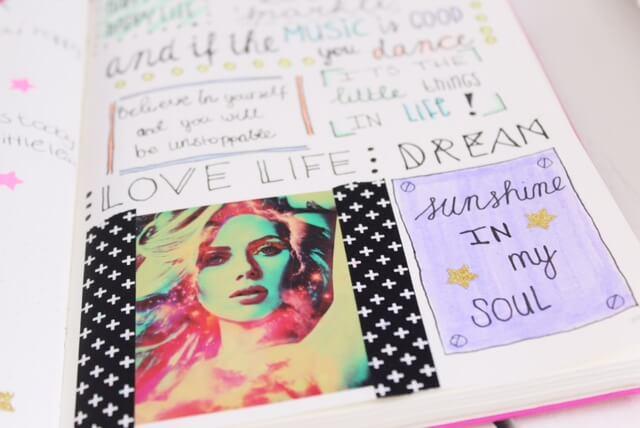 Happy spreads in mijn bullet journal