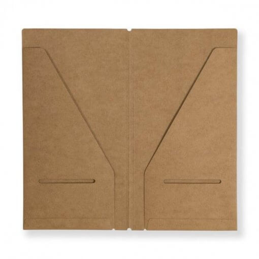 Midori Traveler's Notebook navulling kraft file 020