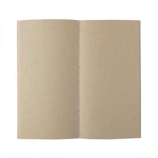 Midori Traveler's Notebook navulling kraft papier 014