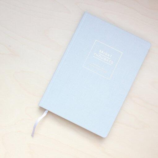 Navucko notitieboek Bright Thoughts grijs
