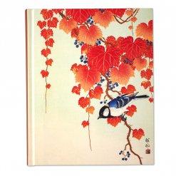 Peter pauper notitieboek bird and red ivy