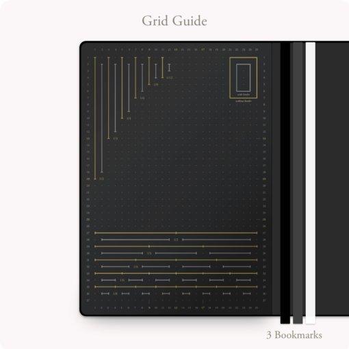 Bullet Journal Leuchtturm 2.0 grid guide
