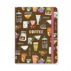 Peter Pauper notitieboek koffie