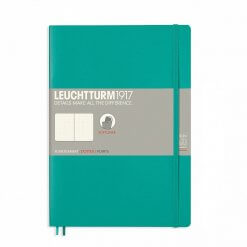 Notitieboek Leuchtturm1917 B5 dotted softcover emerald