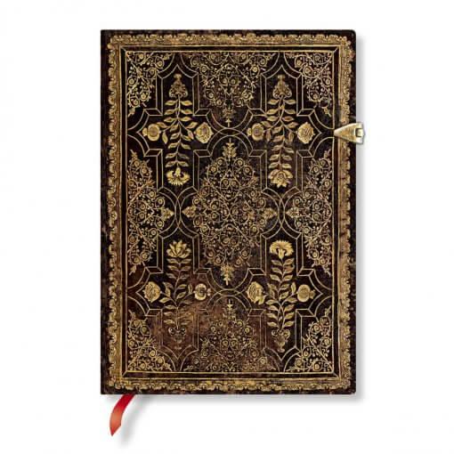 Paperblanks notitieboek Mahogany midi