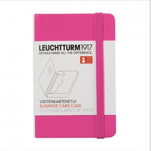 Visitekaartjeshouder Leuchtturm1917 new pink