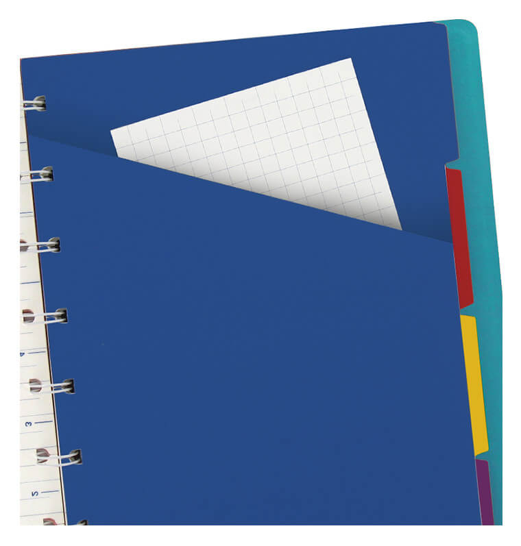 Filofax notitieboek classic blauw A5