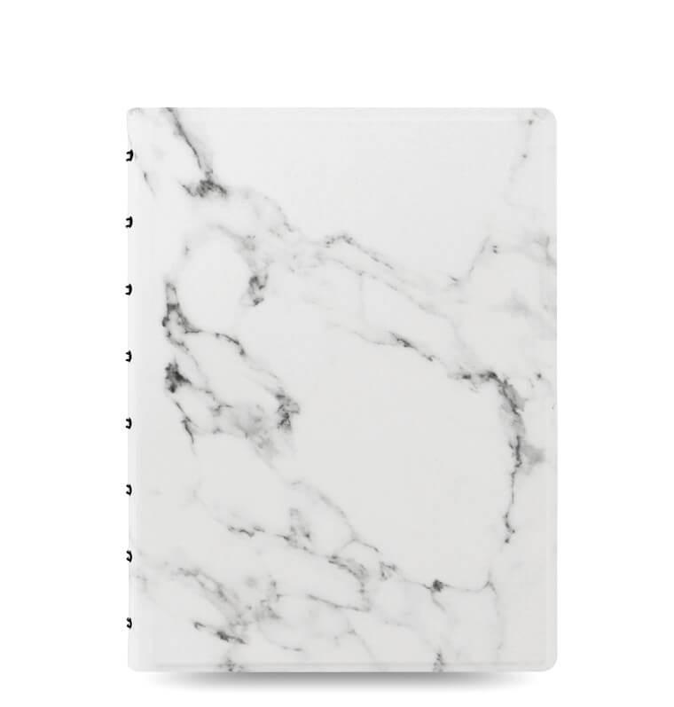 Filofax notitieboek marble look A5