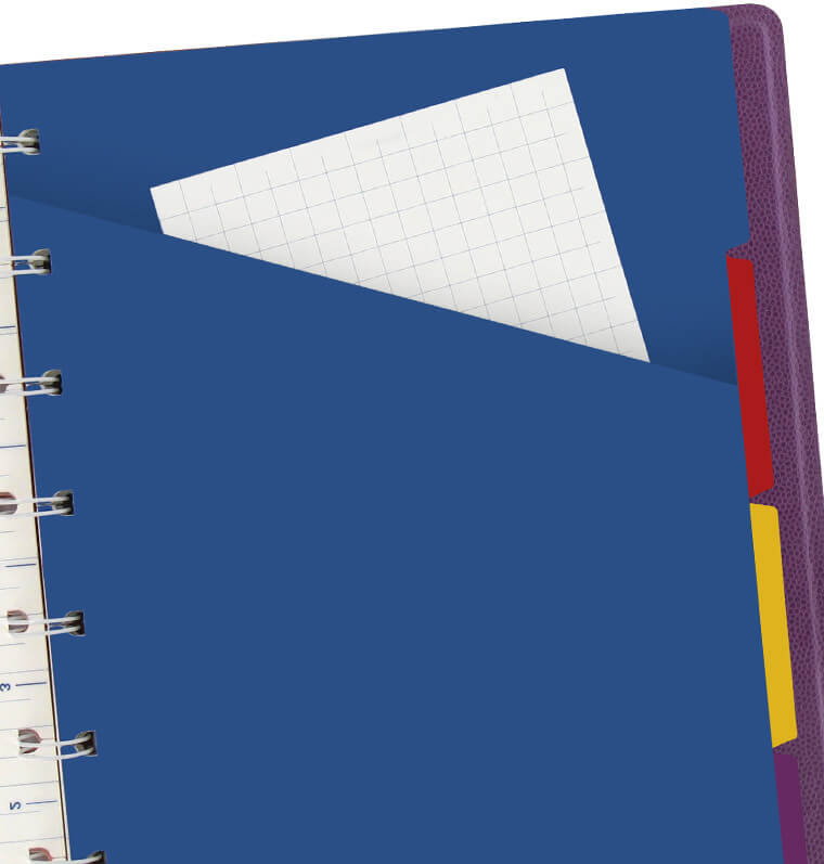 Filofax notitieboek pennybridge paars
