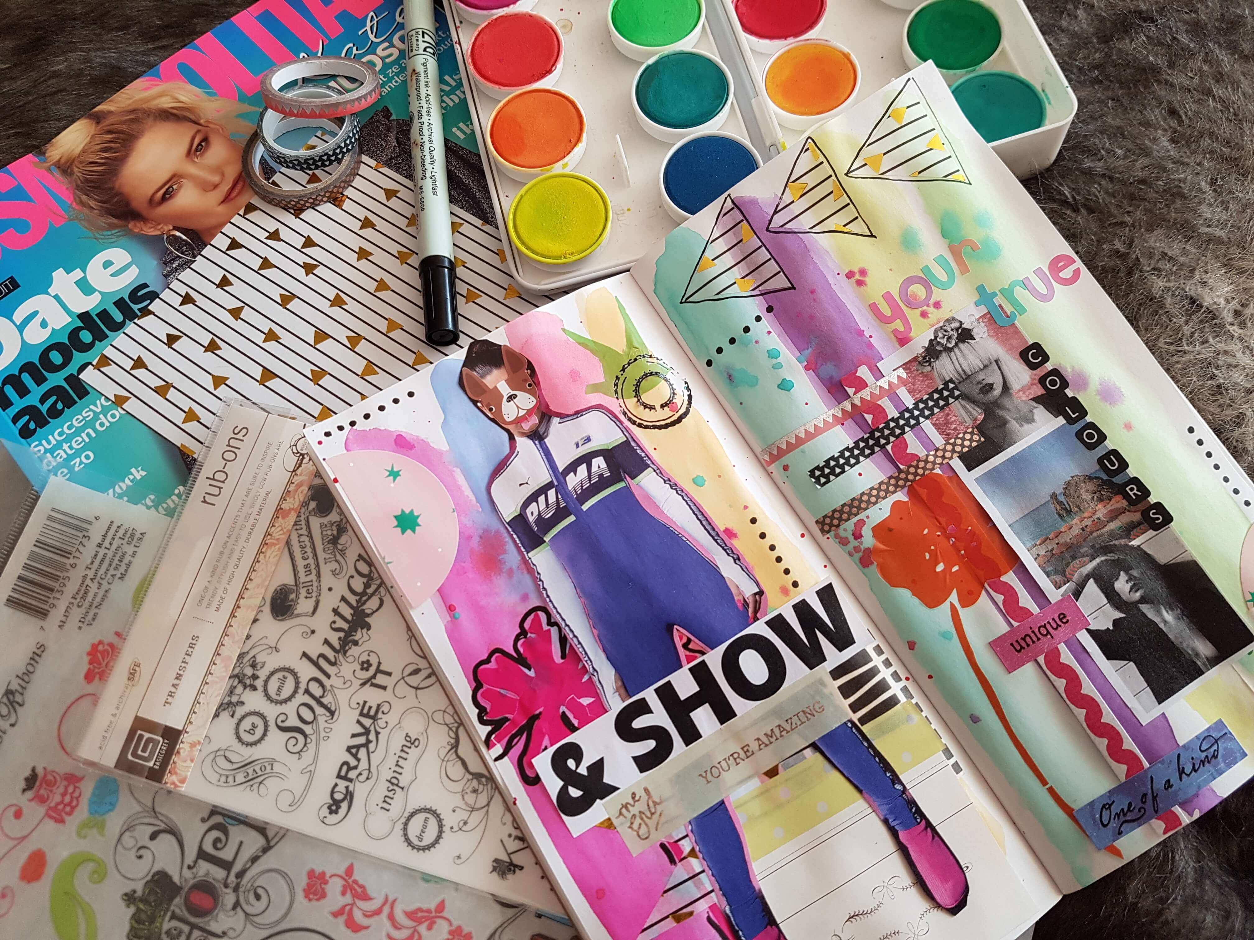 Inspiratie voor als je journaling vastloopt