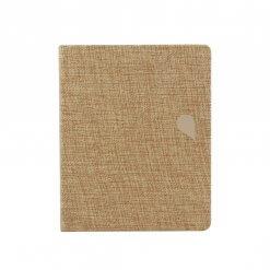 Tinne+Mia notitieboek A6 linnen Fluoriet