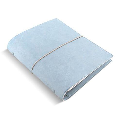 Filofax organizer Domino Soft A5 Pale Blue