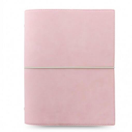 Filofax organizer Domino Soft A5 Pale Pink