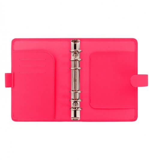 Filofax organizer Saffiano Fluoro pink Personal