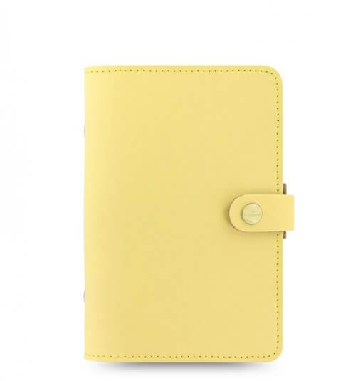 Filofax organizer Personal the original Lemon