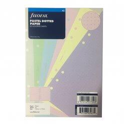 Filofax navulling organizer A5 pastel dotted