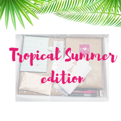 My Lovely Stationery Box Tropical Summer