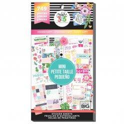 Me & My BIG Ideas stickers Mini Choose Happy Value Pack