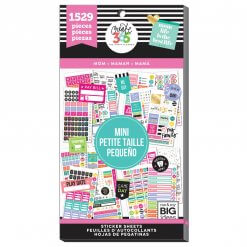 Me & My BIG Ideas stickers Mini Mom Job value pack