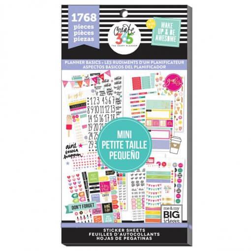 Me & My BIG Ideas stickers Mini Planner Basics Value Pack