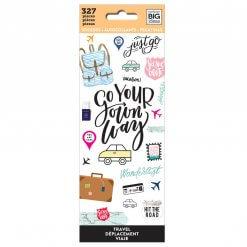 Me & My BIG Ideas stickers Travel