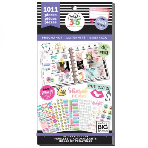 Me. & My BIG Ideas stickers Pregnancy Value Pack